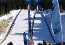 Calgary 2026 possibly use this Vancouver Olympics Jump facility in Whistler, BC; Photo by ©the Pacific Post/ File photo