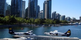 Seaplane Waterfront, Vancouver, BC; Photo by ©the Pacific Post
