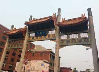 The gate of Chinatown, Vancouver; Photo by ©the Pacific Post/ File Photo