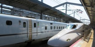 Shinkansen, Japan; Photo by ©Pacific Walkers