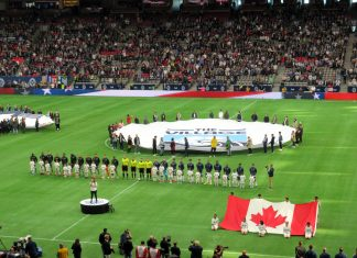 MLS 2019 Season opener at BC Place, Whitecaps vs Minnesota, March 2, 2019, Vancouver; Photo by ©the Pacific Post