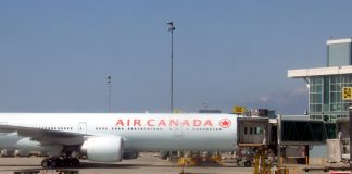 Air Canada air plane at YVR; File Photo ©The Pacific Post