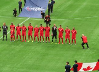 Team Canada, March 24, 2019 at BC Place, Vancouver, British Columbia; Photo by ©The Pacific Post