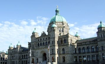 Legislative Assembly of British Columbia, Victoria; Photo by ©the Pacific Post