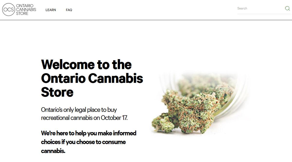 Ontario online marijuana Oct-17-2018