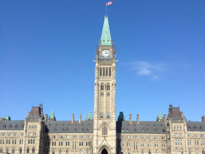 Parliament of Canada in Ottawa, ON; Photo by ©Mako Ogura