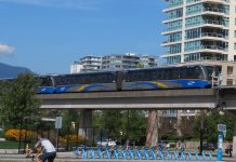 Vancouver Skytrain of Translink, BC; Photo by ©the Pacific Post